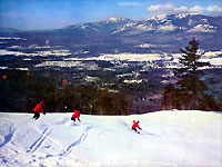 Downhill Skiing North Conway