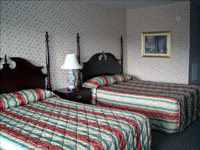 North Conway Mountain Inn 2 Double Beds Room